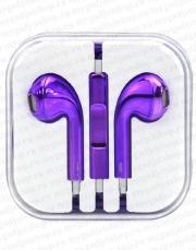 Наушники AirPods для Айфона i7S, i8-Plus (Аирподс, Apple  AirPods ifans Apper, aFans).  -- хром фиолетовый