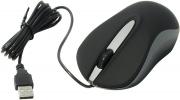 Мышь проводная Smart Buy 329, черная/серая, USB