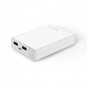 зарядное устройство  Hiper RP 8500 mAh  2.1 а + 1 а , белый , 2 USB
