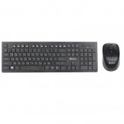 набор клавиатура + мышь INTRO DW810, черный, беспроводной.