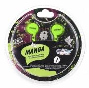 Наушники Smartbuy SBE-1070 Manga, зелёные