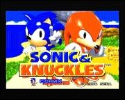 картридж (каcсета) на SEGA (сега) Sonic & Knuckles (соник и книклес)