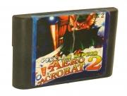 картридж (кассета) на SEGA (сега) Aero acrobat  2 (аэро акробат)