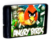 картридж (кассета) на SEGA (сега) angry birds (ангри бертс)