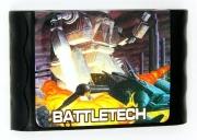 картридж (кассета) на SEGA (сега) Battletech a game of armored combat