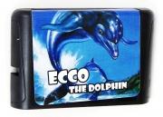 картридж (кассета) на SEGA (сега) Ecco Jr.(экко)