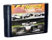 картридж (кассета) на SEGA(сега) F1 hero MD(формула 1)