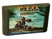 картридж (кассета) на SEGA (сега) P.T.O. ( Морской Бой)