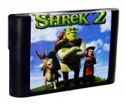 картридж (кассета) на SEGA (сега) Shrek 2(шрек)