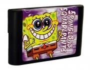 картридж (кассета) на SEGA (сега) Spongebob squarepants (спанч боб)