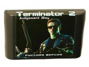 картридж (кассета) на SEGA (сега) Terminator 2
