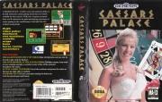 картридж (кассета) на SEGA (сега) Caesars Palace (Покер)