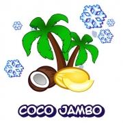 """Жидкость для Электронных сигарет """" Vape Strike Coco Jambo """" 3 мг."""
