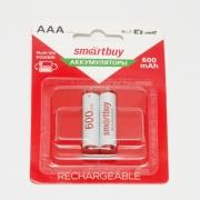 Аккумулятор Smartbuy R03 NiMh (600 mAh) (2 бл)