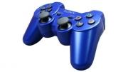 джойстик для Sony PLAYSTATION 3 (сони плейстейшн 3) DUALSHOCK 3  синий