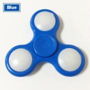 Spinner ( Спиннер ) антистресс Led (с подсветкой из светодиодов) синий