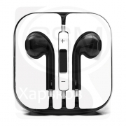Наушники AirPods для Айфона i7S, i8-Plus (Аирподс, Apple  AirPods ifans Apper, aFans).  -- черные