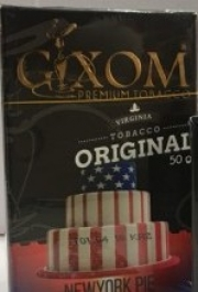 табак для кальяна Gixom ( гиксом ) New York Pie (Пирог Нью Йорк)  50 гр