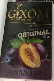 табак для кальяна Gixom ( гиксом ) Plum  flavoured (Слива) 50 ГР.