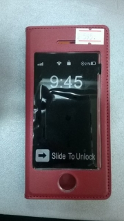чехол для телефона iphone 5s(айфон 5с), арт 006872 бордовый