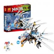 конструктор Lele (LEGO) Ninja ( ниндзя)  атака ледяного дракона