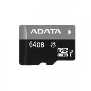 Micro sd карта 64 gb A-Data class 10 с адаптером