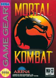 картридж (касcета) на SEGA (сега) Mortal Kombat