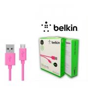 Кабель USB на Micro розовый Belkin