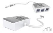 зарядное устройство LDNIO USB HUB 3 ports (порта)