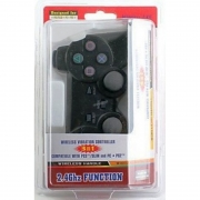 джойстик для PS3/PS2/PC wireless controller black (3в1)