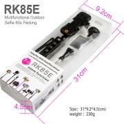 monopod bluetooth 7in1 ZOOM RK85E