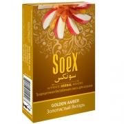 Безникотиновая смесь для кальяна Soex Золотистый янтарь (10шт в блк)