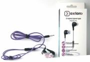 Стерео-гарнитура OXION HS201, фиолетовая.