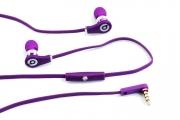 Наушники Monster Beats Tour (оригинал) ControlTalk Purple(фиолетовый) с контроллером