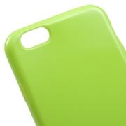 Чехол накладка Sillicone Case  iPhone 6s / 6 салатовый LM