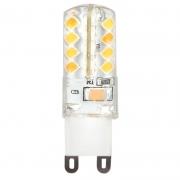Лампа светодиодная SMART BUY G9-4W-220V-3000К-G9 (капсульная, теплый свет)