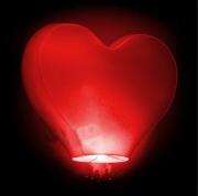 Небесный фонарик желаний(Китайский) 3D сердце