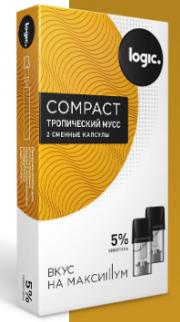 Капсулы Logic Compact ТРОПИЧЕСКИЙ МУСС (1.6 мл)