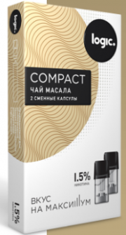 Капсулы Logic Compact ЧАЙ МАСАЛА (1.6 мл)