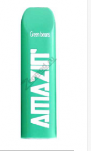 Сигарета электронная (одноразовая)  Amazin Pod Green Beans 5%