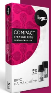 Капсулы Logic Compact ЯГОДНЫЙ ФРЕШ (1.6 мл)