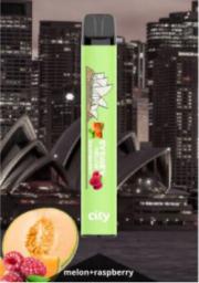 ОДНОРАЗОВЫЕ ЭЛЕКТРОННЫЕ СИГАРЕТЫ  City Streets Sydney Melon Raspberry (Сидней) 550