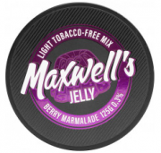 Кальянный Maxwells 25 грLight Jelly Ягодный мармелад 0,3%