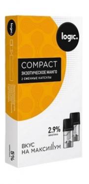 Капсулы Logic Compact Экзотическое Манго (1.6 мл)