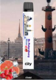 ОДНОРАЗОВЫЕ ЭЛЕКТРОННЫЕ СИГАРЕТЫ  City Streets St.Petersburg River (Санкт-Петербург)