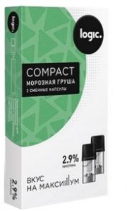 Капсулы Logic Compact Морозная Груша (1.6 мл)