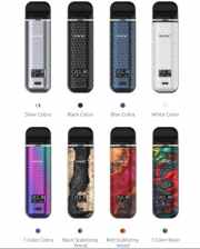 электронная сигарета NOVO X POD SYSTEM STARTER KIT BY SMOK ( оригинал )(для солевого никотина и обычных жидкостей) Вэйп