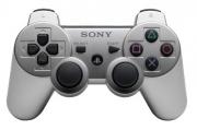 джойстик для Sony PLAYSTATION 3 (сони плейстейшн 3) DUALSHOCK 3 серебро