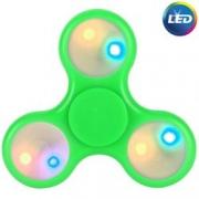Spinner ( Спиннер ) антистресс Led (с подсветкой из светодиодов) зеленый