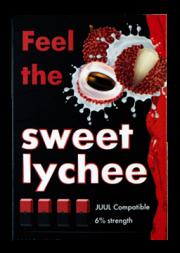 КАРТРИДЖИ FEEL the Sweet Lychee ПОДХОДИТ ДЛЯ JUUL (4 ШТ) 6% 0.7 мл